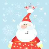 Big santa claus Royalty Free Stock Photos