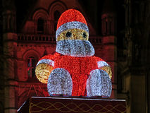 Big Santa Claus, Albert Square, Manchester Stock Photo