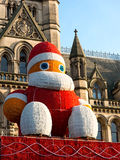 Big Santa Claus, Xmas Markets Manchester, England Stock Images
