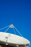 Big Satellite Dish. Satellite dish at television channel from Thailand Royalty Free Stock Photo