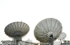 Big satellites dish Stock Photo