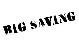 Big Saving rubber stamp Royalty Free Stock Photos