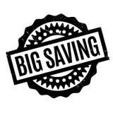 Big Saving rubber stamp Stock Photography