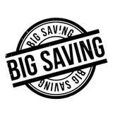 Big Saving rubber stamp Royalty Free Stock Photo