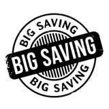 Big Saving rubber stamp Stock Photo
