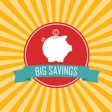 Big savings Royalty Free Stock Photos