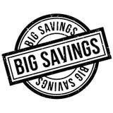 Big Savings rubber stamp Stock Photo
