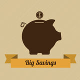 Big savings Stock Images
