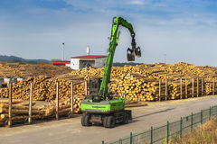 At the big sawmill Stock Photos