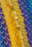 The Big scaly Naga snake Stock Photos