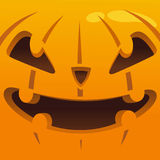 Big and scary pumpkin head Royalty Free Stock Photo