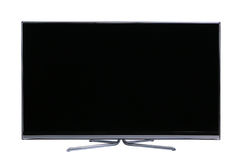 Big screen flat lcd tv Royalty Free Stock Photos