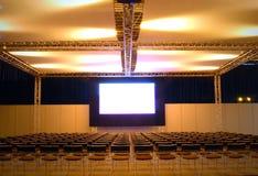 big screen show Στοκ Φωτογραφία
