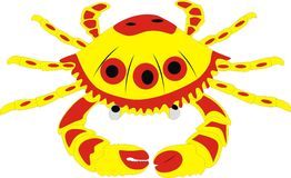 The big sea crab Royalty Free Stock Images