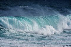 Big sea wave Stock Images