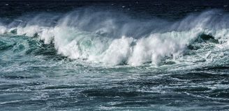 Big sea wave Royalty Free Stock Photography