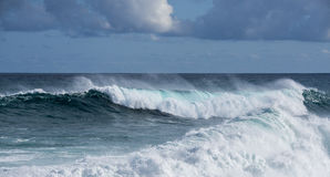 Big sea wave Royalty Free Stock Photo