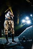 Big Sean concert at Bumbershoot Royalty Free Stock Images