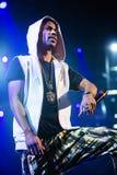 Big Sean concert at Bumbershoot Royalty Free Stock Image