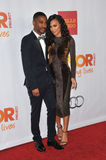 Big Sean & Naya Rivera Royalty Free Stock Image