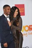 Big Sean & Naya Rivera Royalty Free Stock Photography