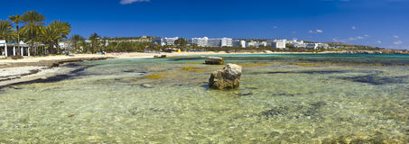 Big seascape of Agia Napa village  Cyprus island Stock Photo