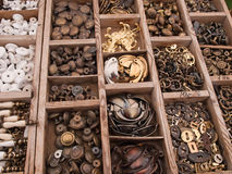 Big selection of DIY cabinets parts Royalty Free Stock Photography