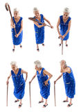 Big Series Elderly stock images