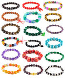 Big set with bracelets Stock Photography
