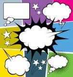 Big Set Of Bubble Speech Stock Photo