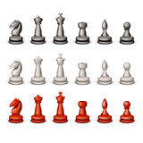 Big set chess Stock Image