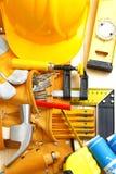 Big set of construction tools Stock Images