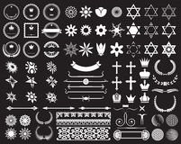 Big set of design elements Stock Photography