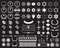 Big set of design elements Stock Photography