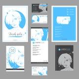 Big set of fashion templates for card, flyer, poster, brochure and leaflet design. Big set of hand drawn templates for card, flyer, poster, brochure and leaflet vector illustration