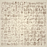 Big set of icons for different occasions. Stock Image