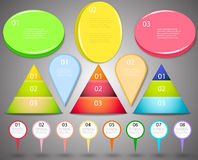 Big set of infographics Royalty Free Stock Image