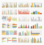 Big set of infographics elements Royalty Free Stock Image