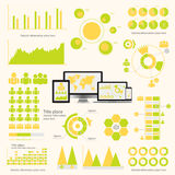 Big set of infographics elements. EPS10. stock illustration