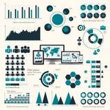 Big set of infographics elements. EPS10. Stock Photos
