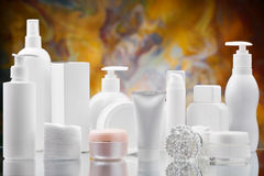 Big Set Of Skincare Items Stock Images
