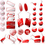 Big Set Of Vector Price Tags Royalty Free Stock Images