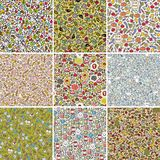 Big set of seamless doodle patterns. Stock Photography