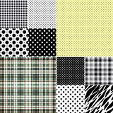 Big set seamless patterns Stock Image