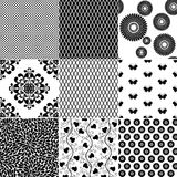 Big set seamless vintage pattern Stock Images