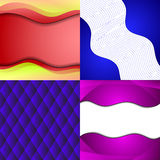Big Set Of Soft Colored Abstract Background. Royalty Free Stock Images