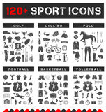 Big Set of Sport Vector Icons Stock Photo