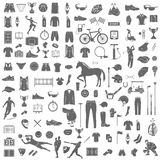 Big Set of Sport Vector Icons Stock Photos