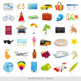 Big set: travel stock illustration