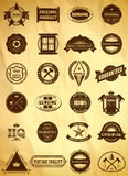 Big set of vintage labels Royalty Free Stock Photo